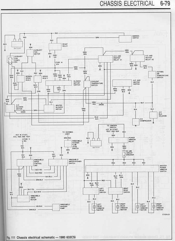 80 633csi Wiring Diagram 2 Side Draft Six