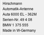antenna 362 51509 1375555